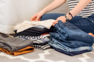 Organizzare il guardaroba